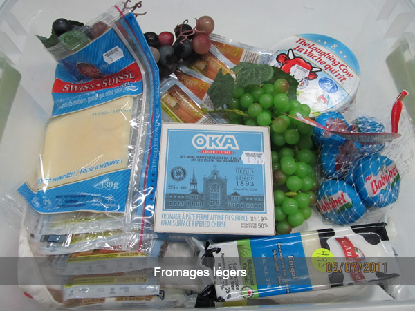 Fromage légers